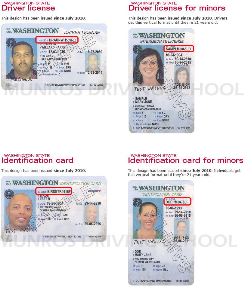 washington state drivers license practice test